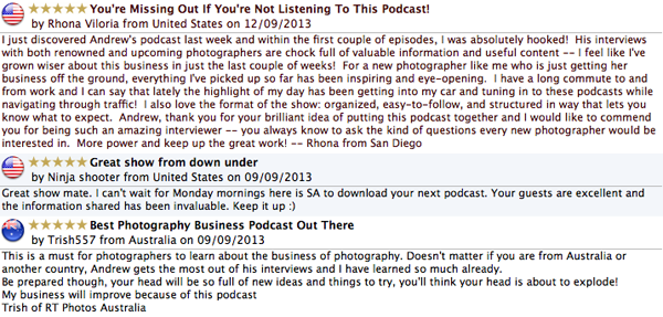 iTunes reviews Jeff Voon