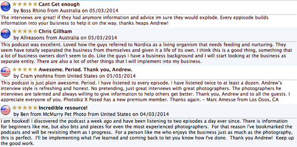 iTunes reviews photography business ewposed_1